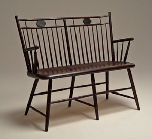 The Butterfly Birdcage Settee by Peter Galbert.